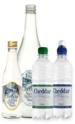 Cheddar Water products