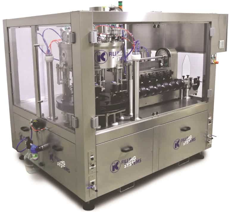 661 Microblock Automatic Can / Bottle Filling Machine